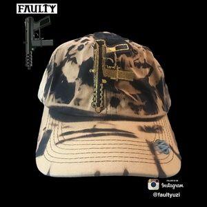 FAULTY Big T9 Black Wash Hat
